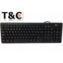 TECLADO USB MULTIMEDIA DM401