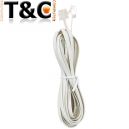 CABLE TELEFONO  3 MTS.