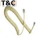 CABLE TELEFONO AURICULAR 4MTS z