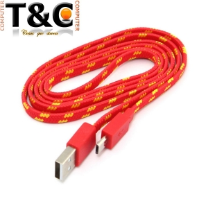 CABLE DATOS V8 MICRO USB CORDON 1 MT