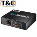 VIDEO SPLITTER HDMI 2 PTOS V1.4 FHD 3D/4K