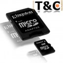 MEM. KINGSTON MICRO SD 16 GB