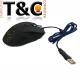 MOUSE CABLE USB 2500 DPI - FONDO VERDE