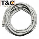20 MTS CABLE UTP CAT 6 GRIS CLARO
