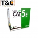 CAJA 100 MTS CAT 5E INTERIOR 24AWG