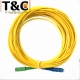 CABLE FIBRA OPTICA 15MTS. 5C/APC-SC/UPC 3.0MM