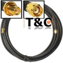 CABLE EXTENSION WIFI SMA 5MTS