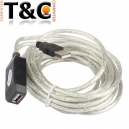 CABLE EXTENSION USB ACTIVO 05 MTS