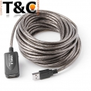 CABLE EXTENSION USB ACTIVO 20 MTS.