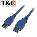 CABLE EXTENSION USB 3.0 1.5 MTS