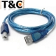 Cable Usb impresora 1,5 mt.