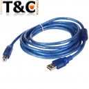 CABLE USB IMPRESORA 5 MTS