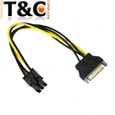 CABLE PODER SATA A 6 PINES