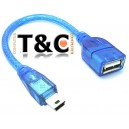 Cable Usb Hembra a 5 pines Macho